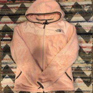 North Face Otsito Full Zip Hooded Sherpa Fleece